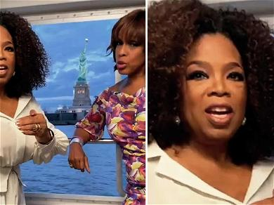 Oprah and Gayle King Narrate Liberty Island Ferry Cruise On Way to Museum Opening