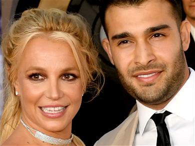Britney Spears & Buff Boyfriend Sam Asghari Go On Beach Bikeride, Instagram Sweats!