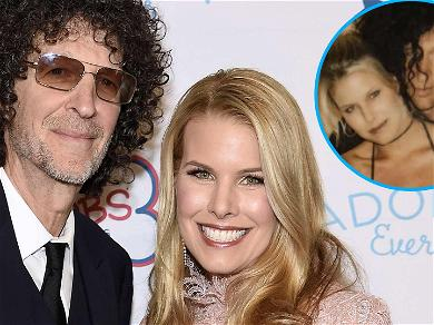 Howard Stern's Wife Beth Shares Sweet V-Day Throwback With Rock Star Hair