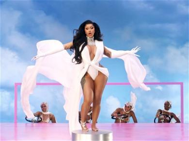 Cardi B Celebrates 'Up' Single Reaching No. 1 On Billboard Hot 100