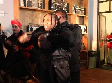 Tyga Grabs for Security Guard's Gun After Being Thrown Out of Floyd Mayweather's Birthday Party