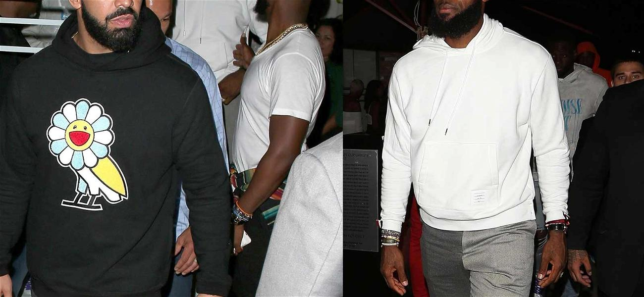 LeBron James Parties in Hollywood With Kevin Durant After Skipping ESPY Awards