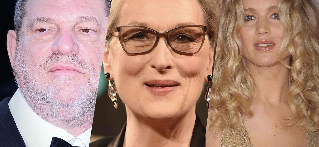 Harvey Weinstein Apologizes for Using Meryl Streep and Jennifer Lawrence as Part of Legal Defense