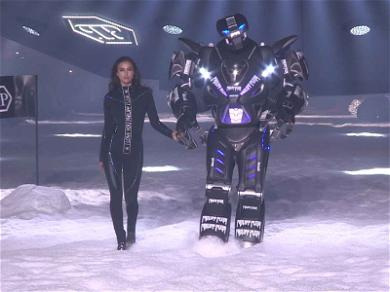 Irina Shayk Walked the Runway with a Robot: Who Wore It Better?