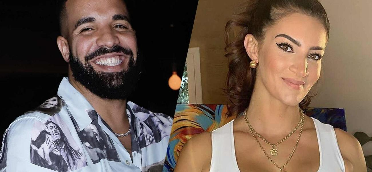 Drake's Baby Mama Sophie Brussaux Flexes In Home Workout Video