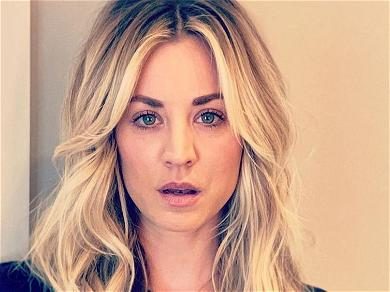 Kaley Cuoco Stuns Flipping Her Hair In Smoking Swimsuit Pool Video On Instagram
