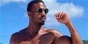Lori Harvey's Boyfriend Michael B. Jordan Shows Off His Body Ody Ody