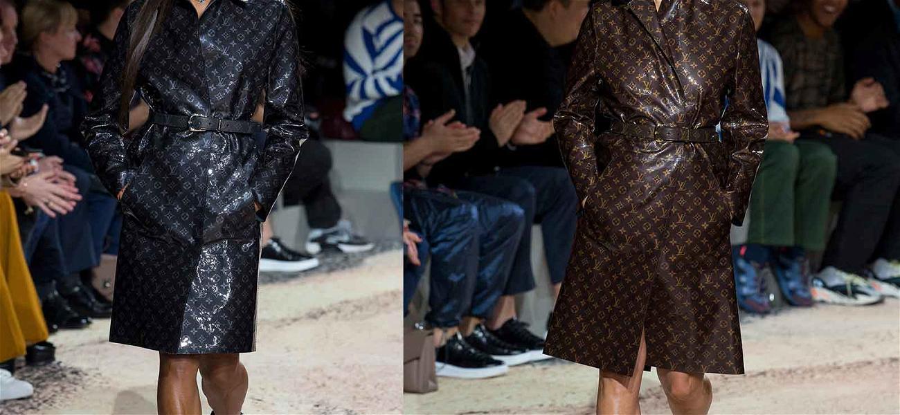 Naomi Campbell and Kate Moss Reunite at Louis Vuitton Show
