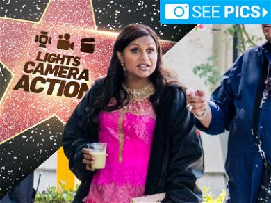 Mindy Kaling Working for Two on 'The Mindy Project'