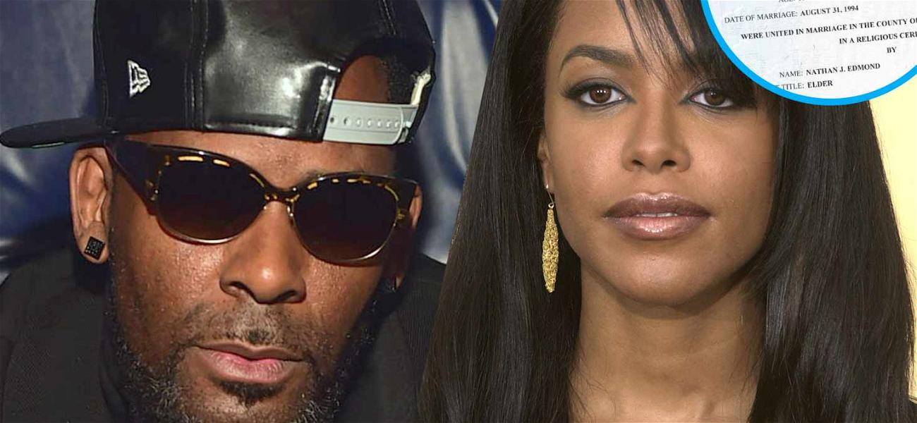 Check Out Aaliyah's Forged Marriage Certificate to R. Kelly