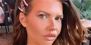 Chanel West Coast Shows Off 'Miami Glow' In Pink-Striped Bikini