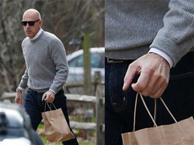 Matt Lauer Carrying a Little Baggage After Ditching Wedding Ring