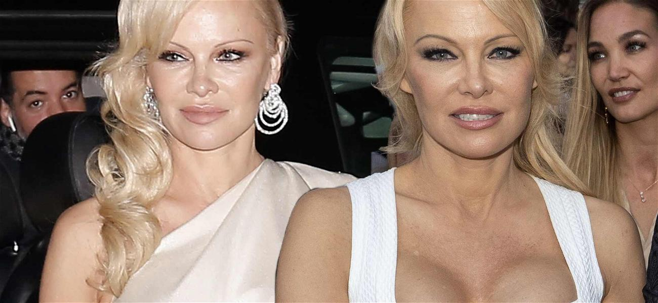 Surprise! Pamela Anderson Got Married To Husband #5 Over The Weekend