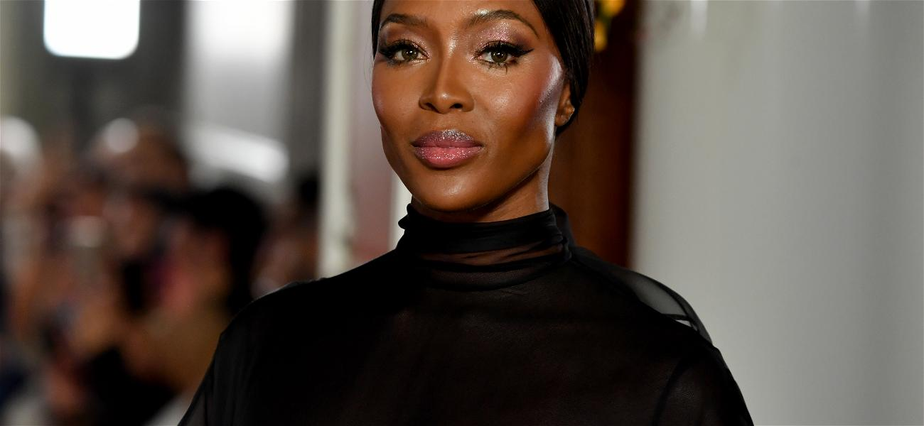 Naomi Campbell Posts Topless Photo on Instagram