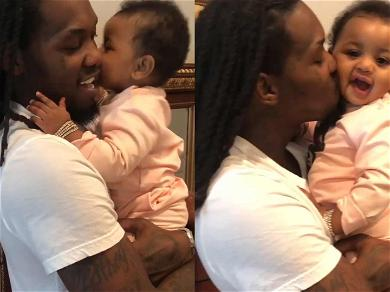 Offset Smothers Kulture in Kisses Ahead of 1st Birthday