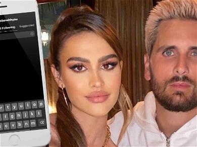 Scott Disick Doesn't Follow His 19-Year-Old Girlfriend Amelia Gray On Instagram