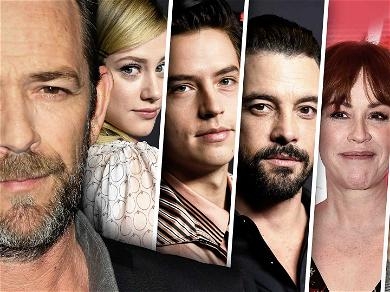 Luke Perry's 'Riverdale' Co-Stars Show Their Support Following His Hospitalization