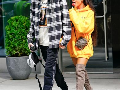 Pete Davidson Shades Ariana Grande for Spray Tanning Herself for Vogue Cover