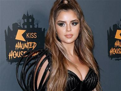 Demi Rose Smolders In Slit Dress: 'If You Need Me, I'll Be Home'