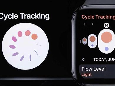 Apple Watch Hits for the Cycle After Unveiling New Menstrual Tracking