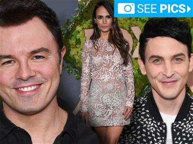 Seth MacFarlane and Jordana Brewster Get Fancy for Launch Party