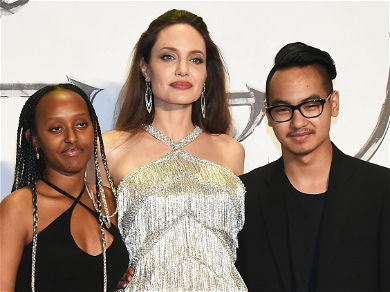 Angelina Jolie Reunites With Son Maddox in Tokyo For 'Maleficent' Premiere!