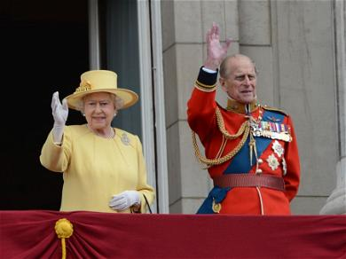 Queen Elizabeth II Pays Last Respects To Husband Of 70 Years