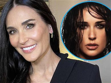 Demi Moore Is Scorching Hot In Dripping Wet Throwback