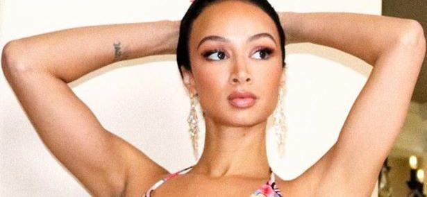 'Basketball Wives' Star Draya Michele Gives Instagram A Perfect View In Spandex Workout Video