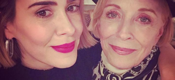 Sarah Paulson& Holland Taylor Birthday Wishes Are Relationship Goals