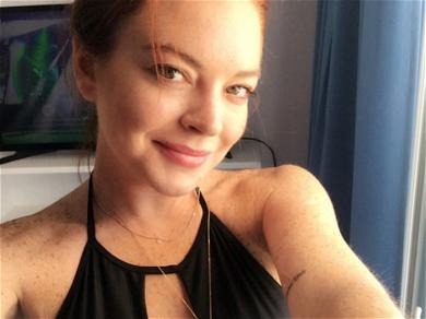 Lindsay Lohan Tried to Be a Hero, Got Smashed in the Face