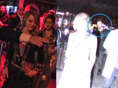 Emma Stone and Justin Theroux Add Fuel to Romance Rumors After Leaving Met Gala Party Together