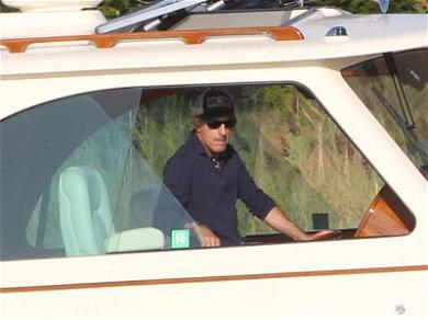 Matt Lauer Stays 'Resilient' During Solo Labor Day Boat Outing