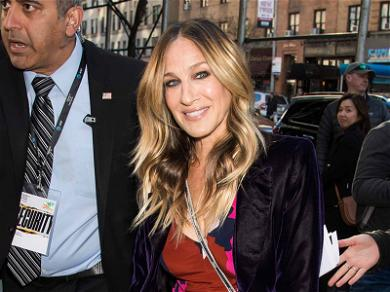Sarah Jessica Parker Recycled the Most Amazing Dress
