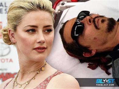 Amber Heard Denies Burning Johnny Depp With Cigarette