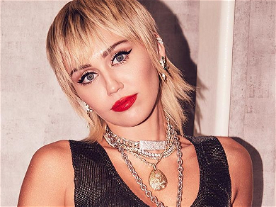 Miley Cyrus Rips Off Clothing For 'Single' Status Reminder