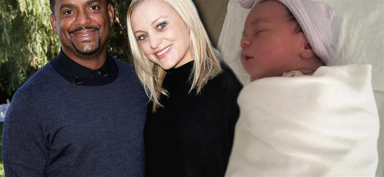 'Fresh Prince' Star Alfonso Ribeiro Welcomes Third Child With Wife