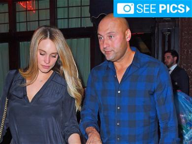 Derek and Hannah Jeter Have Parents Night Out