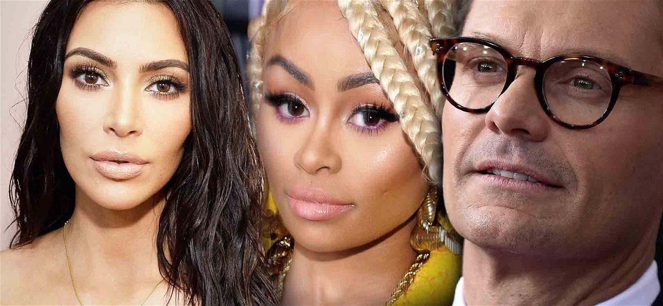 Blac Chyna Wants to Get Her Hands on Ryan Seacrest's Emails With Kim Kardashian and Kylie Jenner