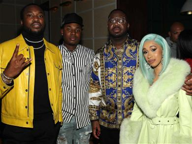 Cardi B Makes Strange Bedfellows With Mortal Enemy Nicki Minaj's Ex-BF