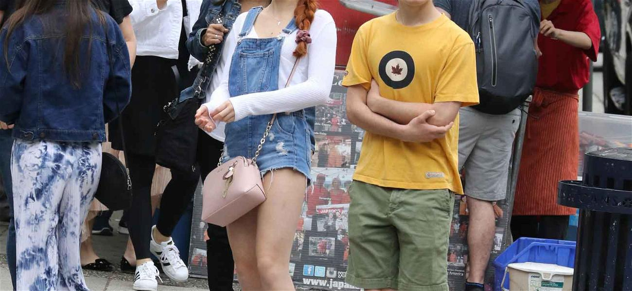 Real-Life 'Kim Possible' and 'Ron Stoppable' Hit the Town During Movie Shoot