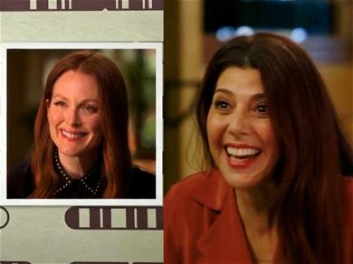 Surprise! Marisa Tomei & Julianne Moore Just Found Out They're Cousins on 'Finding Your Roots'