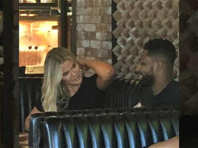 Khloé and Tristan Go Out for Quiet Lunch Date While Working on Relationship