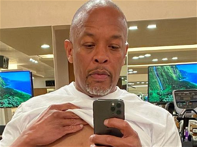 Dr. Dre Lifts Shirt To Show Work In Progress, Joining Will Smith's Challenge