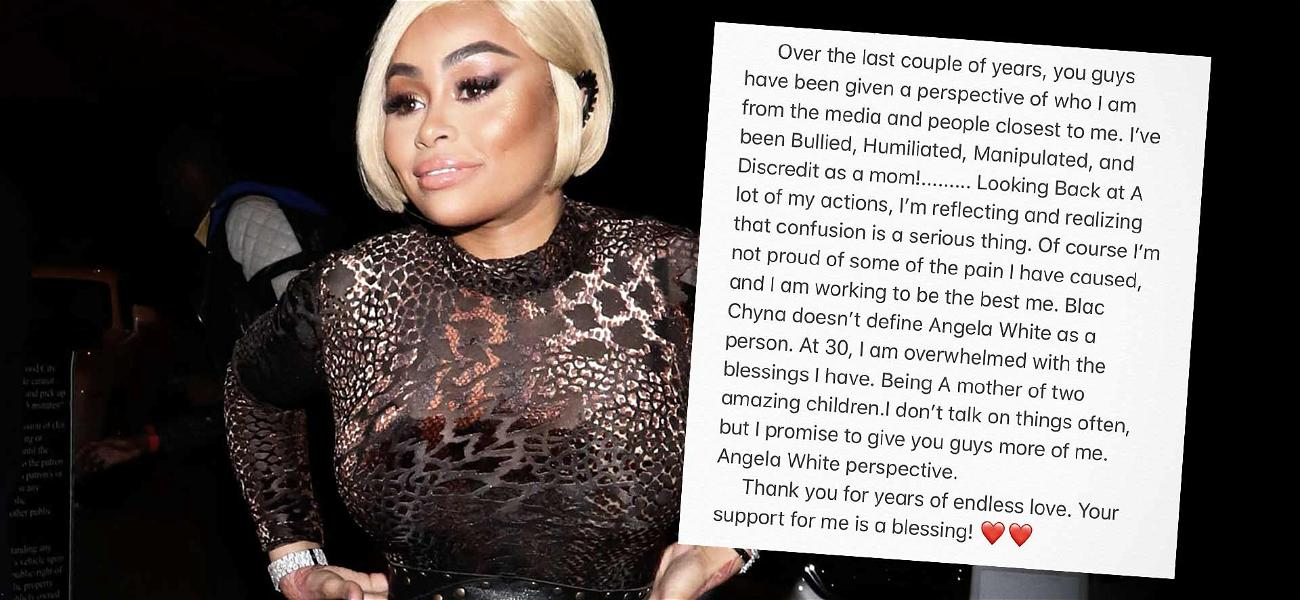 Blac Chyna Takes a Break From Self-Promotion and Gets Deep: 'I'm Not Proud of Some of the Pain I've Caused'