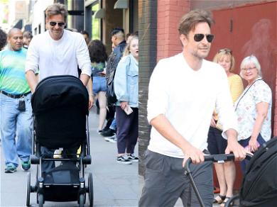 Bradley Cooper Hits the Streets While on Daddy Duty