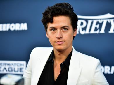 'Riverdale' Star Cole Sprouse Dines With Female Friends In Malibu