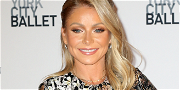 Kelly Ripa Bends Over Touching Toes With No Visible Panty Lines