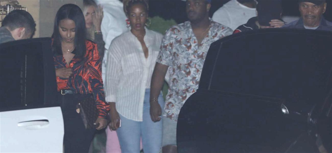 LeBron James Grabs Sushi with Tristan Thompson and Khloé Kardashian