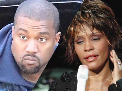 Whitney Houston Family Fuming Over Pusha-T Album Art, Claim Kanye West is Exploiting Her Death
